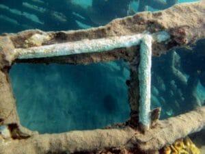 Pemuteran, Bali Biorock self-repair