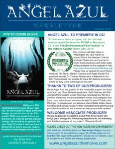 angel azul newsletter