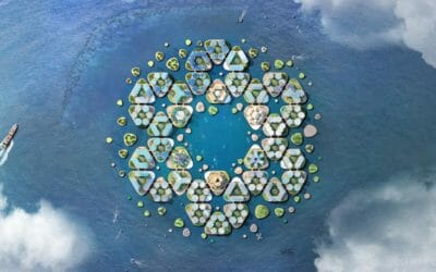 Two Innovative Materials for Floating Islands