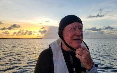 Legendary underwater photographer Jerry Greenberg has just died peacefully at 92