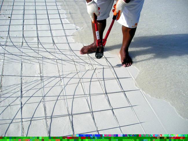 Cutting materials and making shadows. (Caspar Henderson)